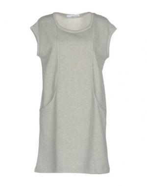 Короткое платье CHILI PEPPERS. Цвет: серый