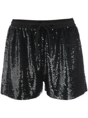 Sequinned shorts Ashish. Цвет: чёрный