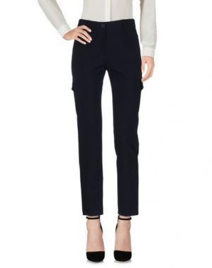 Повседневные брюки ANDREA MORANDO. Цвет: темно-синий