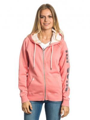 Толстовка ACTIVE LOGO FLEECE Rip Curl. Цвет: бледно-розовый, розовый