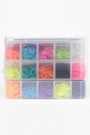 Наборы для плетения браслетов LOOM TWISTER. Цвет: мультицвет