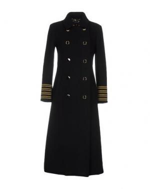 Пальто BAZAR DELUXE. Цвет: черный