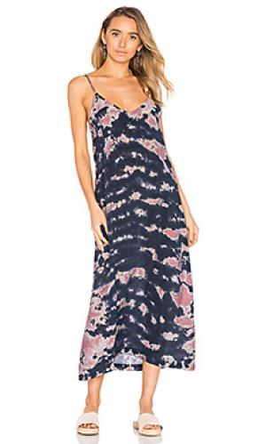Платье-комбинация alma LACAUSA. Цвет: черный