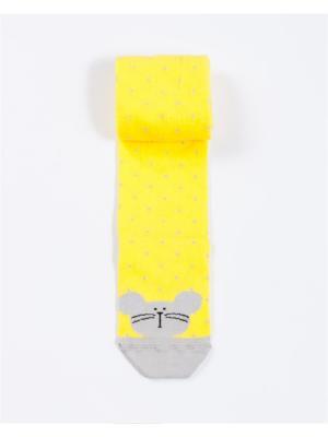 Колготки Mark Formelle. Цвет: желтый