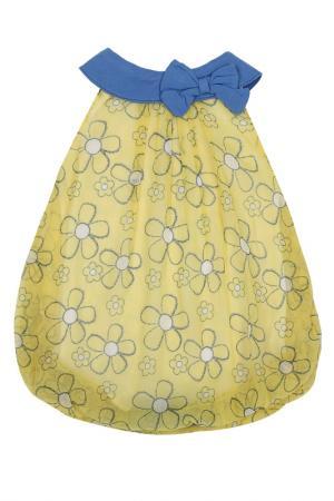 Платье-боди VITAMINS BABY. Цвет: желтый