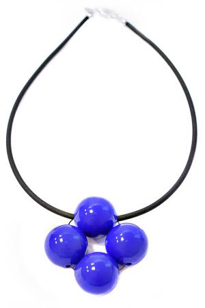 Колье Медуза Divetro. Цвет: синий