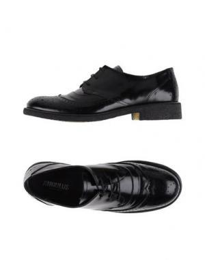 Обувь на шнурках ANGULUS. Цвет: черный