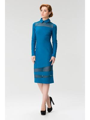 Женское платье с воротником-сорочкой INDIGIRA