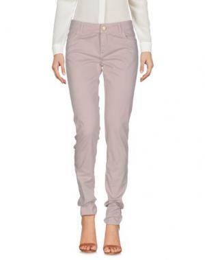 Повседневные брюки E_GO' SONIA DE NISCO. Цвет: бежевый
