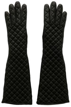 Перчатки SERMONETA. Цвет: черный