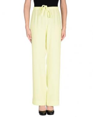 Повседневные брюки LAURÈL. Цвет: кислотно-зеленый