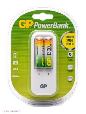 Аккумулятор + зарядное устройство GP. Цвет: серебристый