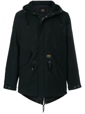 Куртка с капюшоном Carhartt. Цвет: чёрный