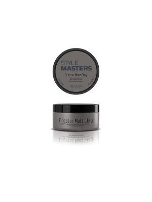 Глина матирующая и формирующая  д/волос CREATOR MATT CLAY 85мл. Revlon Professional. Цвет: серый