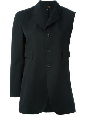 Пиджак с одним рукавом Comme Des Garçons Vintage. Цвет: чёрный