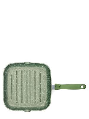 Сковорода-гриль Risoli. Цвет: зеленый