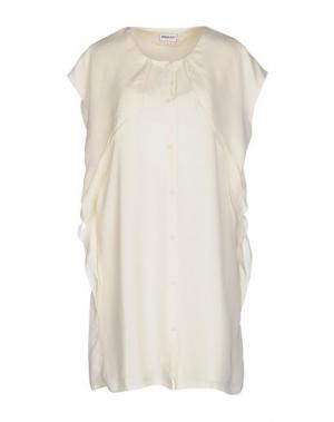 Короткое платье AMERICAN RETRO. Цвет: слоновая кость