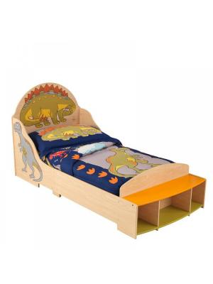 Детская кровать Динозавр KidKraft. Цвет: бежевый