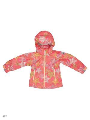 Куртка Icepeak. Цвет: лиловый, бледно-розовый