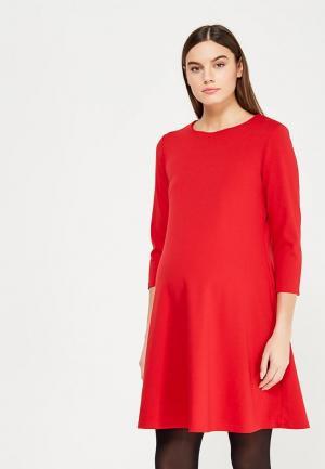 Платье Hunny mammy. Цвет: красный
