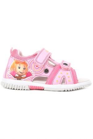 Туфли летние FIXIKI. Цвет: розовый