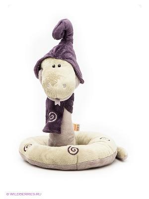 Игрушка змей Луи 30см ORANGE. Цвет: оливковый, фиолетовый