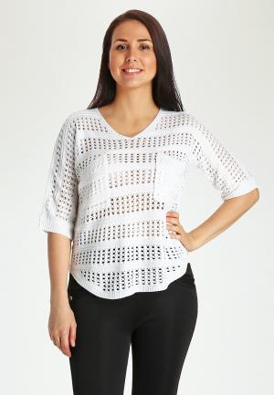 Пуловер Marissimo. Цвет: белый