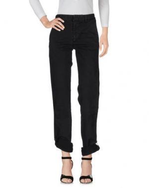 Джинсовые брюки ..,MERCI. Цвет: черный
