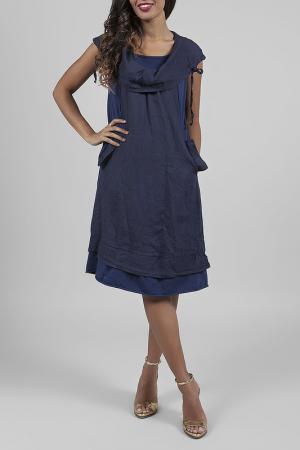 Платье ANABELLE. Цвет: navy