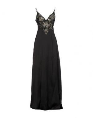 Длинное платье CELYN B.. Цвет: черный