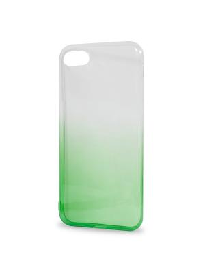 Крышка задняя для iphone 7 силикон IQ Format. Цвет: зеленый
