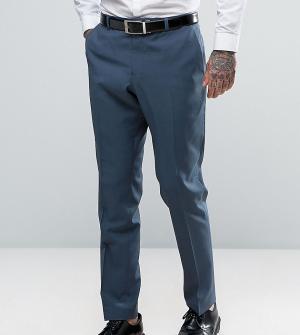 Heart & Dagger Облегающие свадебные брюки. Цвет: синий