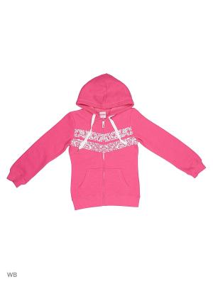 Толстовка Modis. Цвет: розовый, фиолетовый