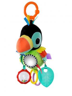 Развивающая игрушка Озорные друзья, туканчик(10815) BRIGHT STARTS. Цвет: черный, зеленый