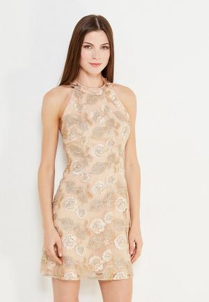 Платье Paccio. Цвет: золотой