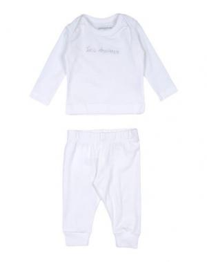 Пижама IMPS&ELFS. Цвет: белый