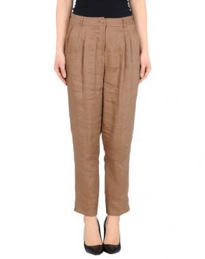 Повседневные брюки FISICO-CRISTINA FERRARI. Цвет: хаки