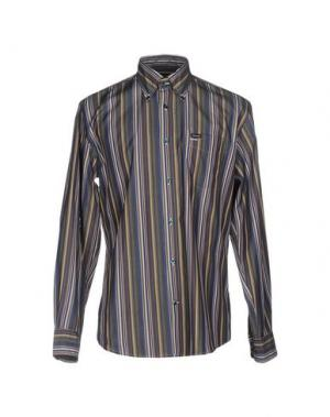 Pубашка FAÇONNABLE. Цвет: темно-синий