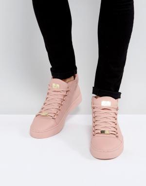 Glorious Gangsta Розовые высокие кроссовки Paris. Цвет: розовый