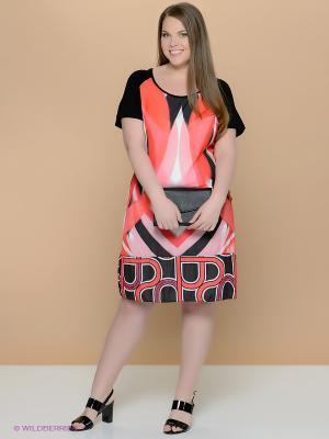Платье Fiorella Rubino. Цвет: черный