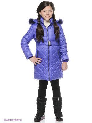 Пальто NIKASTYLE. Цвет: фиолетовый