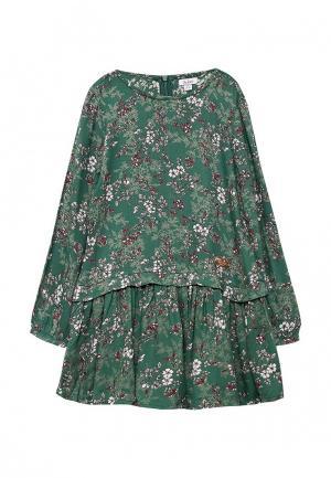 Платье Blukids. Цвет: зеленый