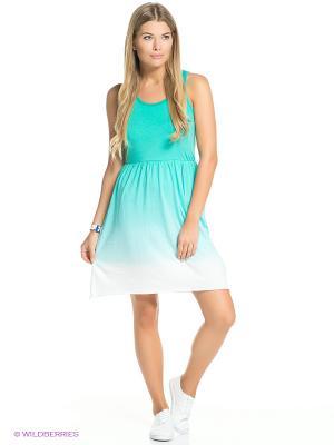 Платье Icepeak. Цвет: бирюзовый