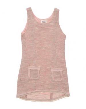 Платье ILLUDIA. Цвет: розовый