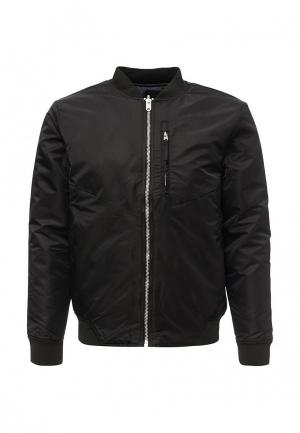 Куртка утепленная Jack & Jones. Цвет: серый