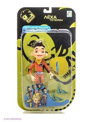 Игровой набор с Лехой Тетериным, Каптой и Балунами Алиса знает, что делать! 1Toy. Цвет: оранжевый