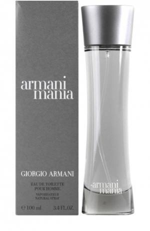 Туалетная вода Armani Mania Giorgio. Цвет: бесцветный