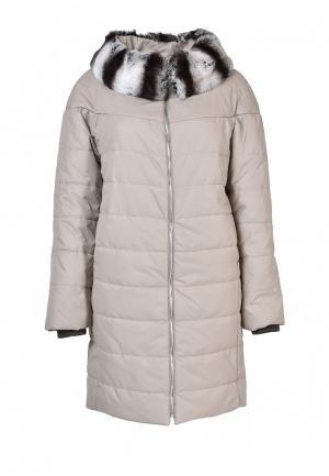 Куртка утепленная Graciana. Цвет: бежевый