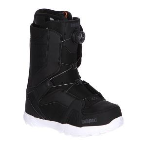 Ботинки для сноуборда  Stw Boa Black/White Thirty Two. Цвет: черный
