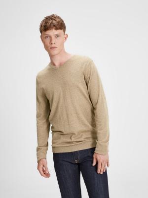 Пуловер Jack&Jones. Цвет: желтый